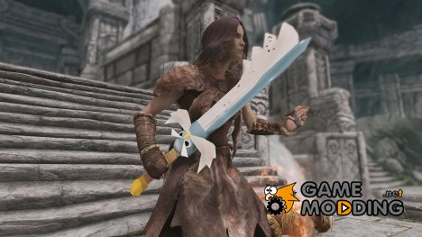 Wise Owl Sword для TES V Skyrim