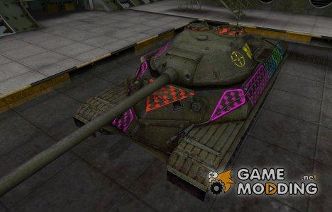 Качественные зоны пробития для ИС-8 для World of Tanks