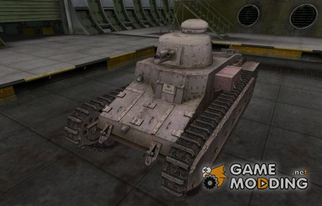Пустынный французкий скин для D1 for World of Tanks