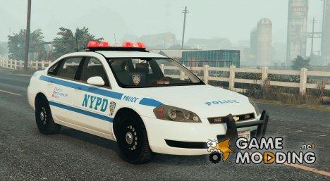 NYPD Chevrolet Impala HD для GTA 5