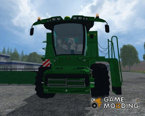 John Deere S690i V 1.0 для Farming Simulator 2015