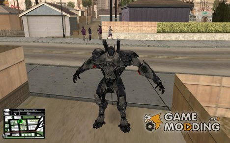 Bat Suit for GTA San Andreas