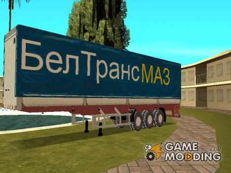 Прицеп для МаЗа компании БелТрансМаз для GTA San Andreas