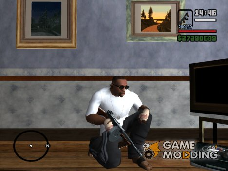 Пак оружий от Crow для GTA San Andreas