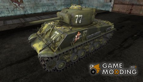 M4A3E8 Sherman от DrRUS for World of Tanks