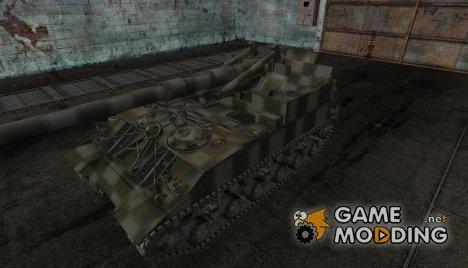 Шкурка для M40/M43 for World of Tanks