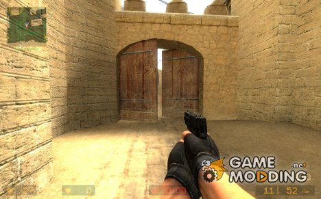 Valve SIG P228 Sporke's Animations for Counter-Strike Source