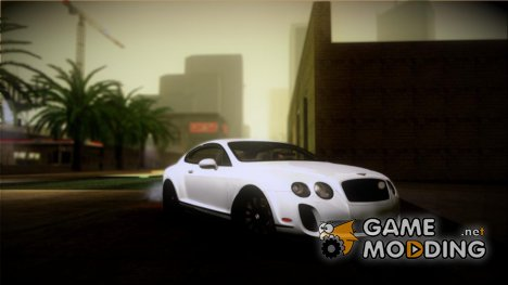 Bentley Continental SuperSports 2010 for GTA San Andreas