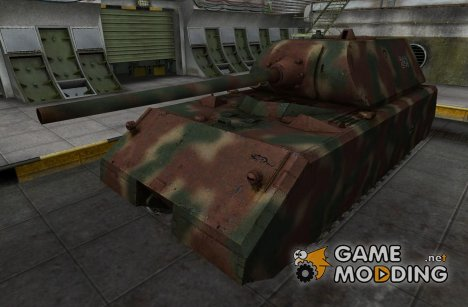 Ремоделинг для Maus для World of Tanks