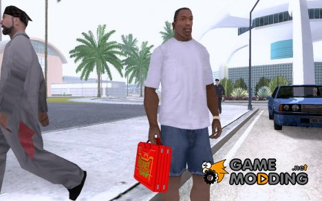 Кейс Money in the bank RAW для GTA San Andreas