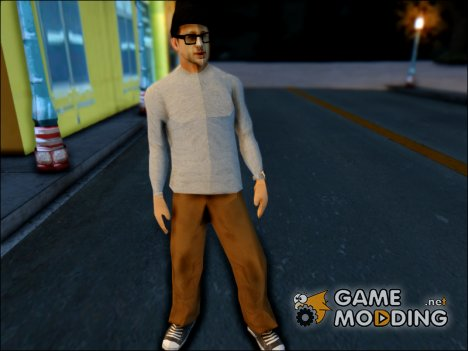 White Milioner Skin for GTA San Andreas