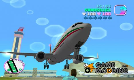 Boeing 737-8B6 Royal Air Maroc (RAM) для GTA Vice City
