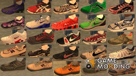 Новые кроссовки для CJ для GTA San Andreas