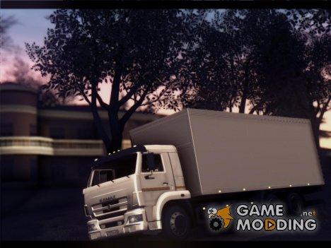 КамАЗ 65117 рестайлинг для GTA San Andreas