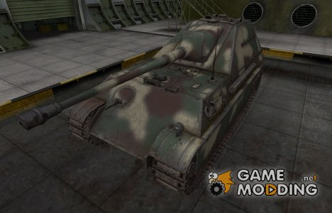 Скин-камуфляж для танка Jagdpanther II for World of Tanks