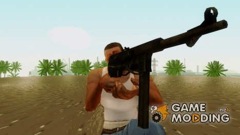 MP40 from Call of Duty World at War для GTA San Andreas