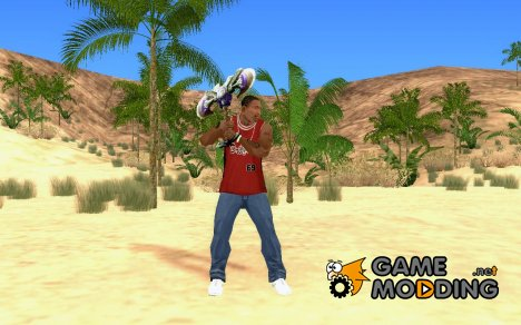 Топор из World of Warcraft для GTA San Andreas