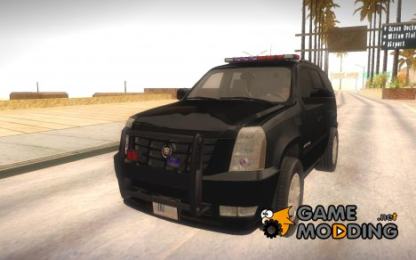 Cadillac Escalade FBI 2011 for GTA San Andreas