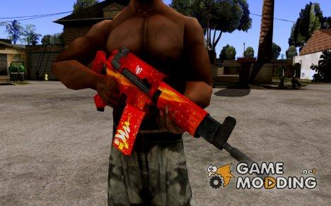 Новогодний Daewo K1 из WarFace for GTA San Andreas