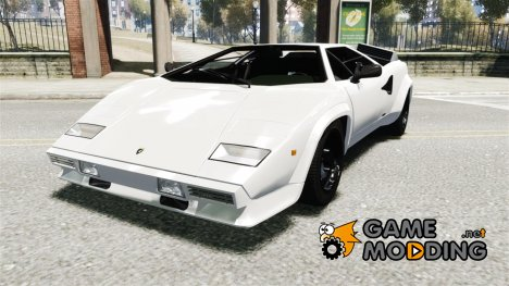 1985 Lamborghini Countach LP500 Quattrovalvole for GTA 4