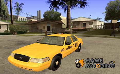 Ford Crown Victoria 2003 NYC TAXI for GTA San Andreas