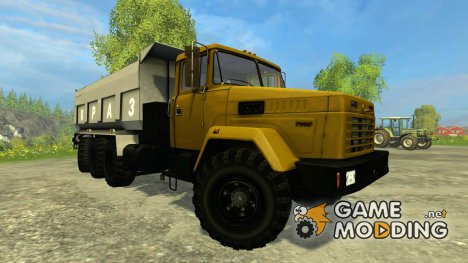 КрАЗ 7140С6 for Farming Simulator 2015