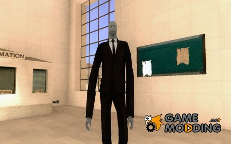Slender Man for GTA San Andreas