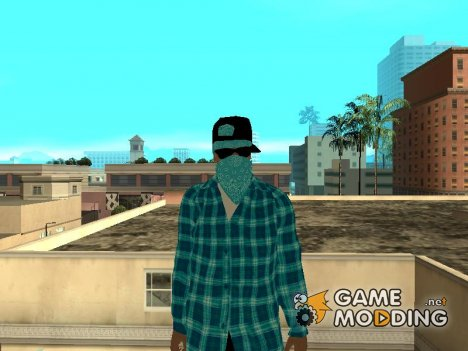 Aztec Gang (VLA2) для GTA San Andreas