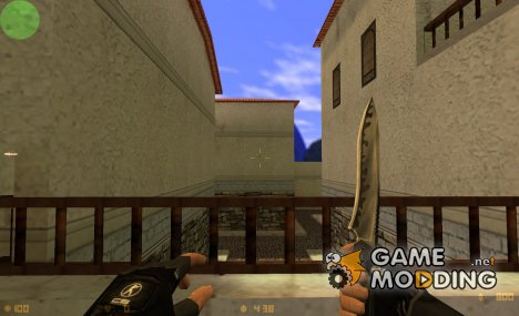 Dark-Grey Knife for Counter-Strike 1.6