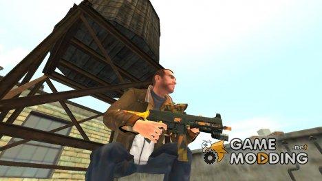 Пистолет-пулемёт UMP45 Fall Camos v.1 для GTA 4