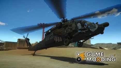 Sikorsky MH-60L Black Hawk для GTA 4