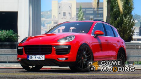 2016 Porsche Cayenne Turbo S for GTA 5