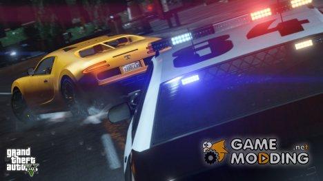 Полицейская сирена GTA V v.1 for GTA 4
