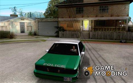 Police car New v 1.0 for GTA San Andreas