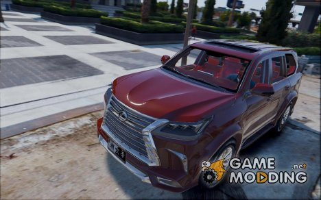 2018 Lexus LX570 WALD 1.0 for GTA 5