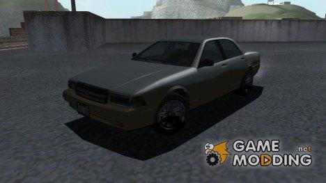 GTA V Vapid Stanier II IVF Style для GTA San Andreas