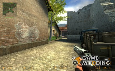 BlackChrome Deagle для Counter-Strike Source