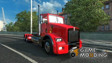 Kenworth T800 v2.2 Final + DLC for Euro Truck Simulator 2