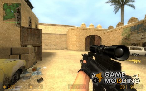 The End's G36 Sniper Hackage + World View для Counter-Strike Source