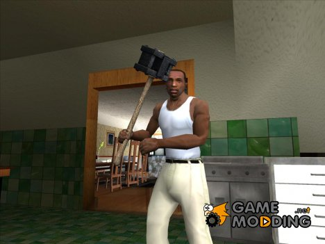 Bogeyman Hammer (SH DP) for GTA San Andreas