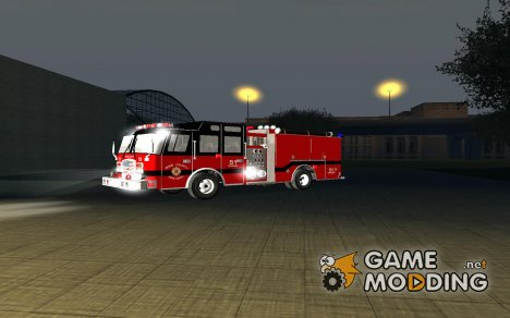 Pierce Arrow XT - Bone County Fire Department для GTA San Andreas