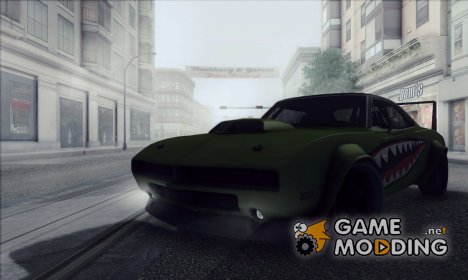 Dodge Charger R/T SharkWide для GTA San Andreas
