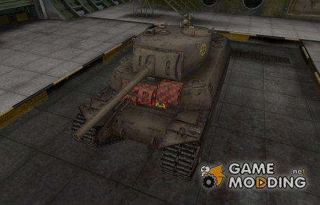 Контурные зоны пробития M6 for World of Tanks