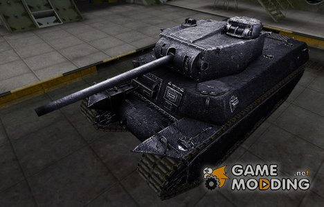 Темный скин для T1 Heavy для World of Tanks