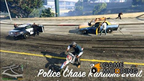 Полицейские преследуют преступников для GTA 5