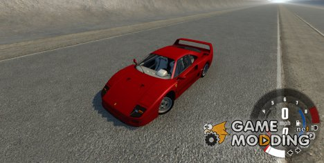 Ferrari F40 for BeamNG.Drive