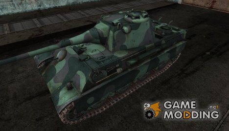 Шкурка для Panther II norway forest для World of Tanks