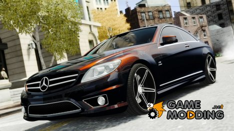 Mercedes-Benz CL65 AMG для GTA 4