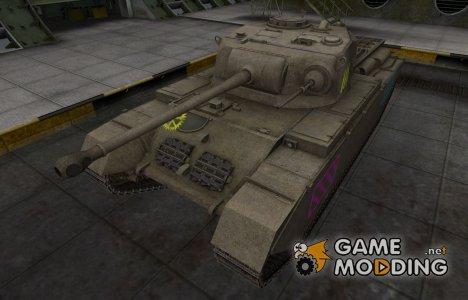 Качественные зоны пробития для Centurion Mk. I для World of Tanks