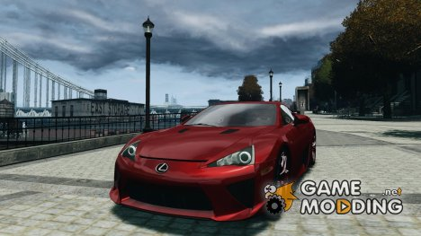 Lexus LFA v1.0 for GTA 4